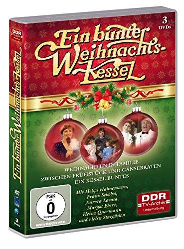 Preisvergleich Produktbild Ein bunter Weihnachtskessel - 3 DVDs (DDR TV-Archiv)