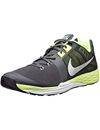 NIKE MEN BLACK GREEN SPORTS SHOES TRAIN PRIME IRON DF