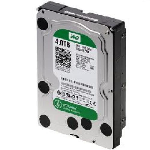 WesternDigital Festplatte 4TB WD40EZRX Green SATA3 3,5' intern, bis zu 7200 rpm, Puffer: 64 MB - Sata Puffer