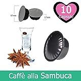 10 Capsule Caffè Alla Sambuca Compatibili Lavazza A Modo Mio
