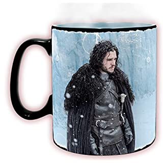ABYstyle Studio Game of Thrones - Becher Heat Change Winter is here 460 ml (Wärme ändern)