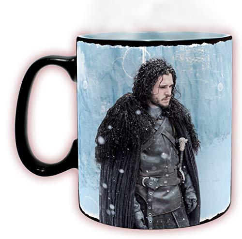 ABYstyle - Game of Thrones - Farbwechsel Becher- 460 ml - Der Winter ist da