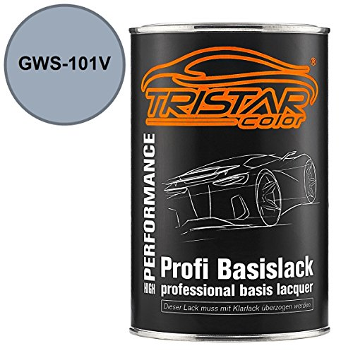 Preisvergleich Produktbild TRISTARcolor Autolack Dose spritzfertig Buick / Cadillac / Chevrolet / Corvette GWS-101V Silver Topaz Metallic Basislack 1, 0 Liter 1000ml
