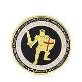zijianZZJ Gedenkmünze, seltenes Gold überzogenes Verteidigungsministerium/Rüstung Gottes Marine Eagle Herausforderung Münzen Geschenk