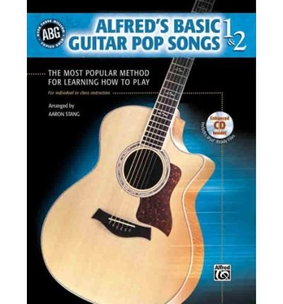 Alfred's Basic Guitar, Bk 1 & 2: Pop Songs, Book & CD (Alfred's Basic Guitar Library) (Paperback) - Common
