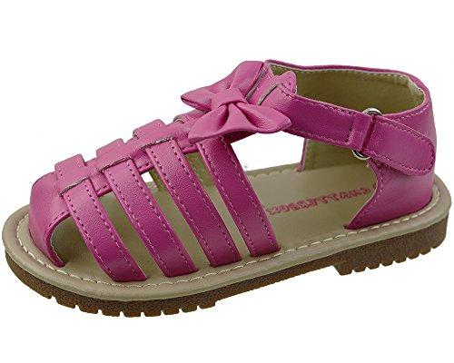 applebees-annalise-sandales-fille-rose-rose