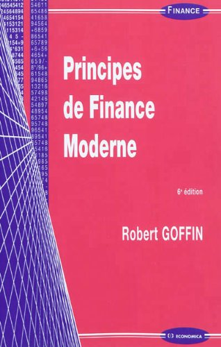 Principes de Finance Moderne - 6 ED.