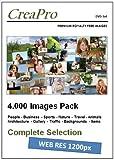 Foto-DVD CreaPro IMAGE PACK: ca. 4.000 lizenzfreie Royalty Free Bilder und Fotos in Web-Auflösung (1200px)- Mit Model Release.