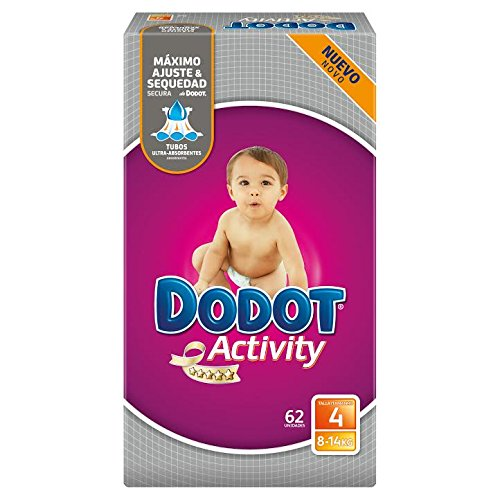 Pañales Dodot Activity T4 62 uds