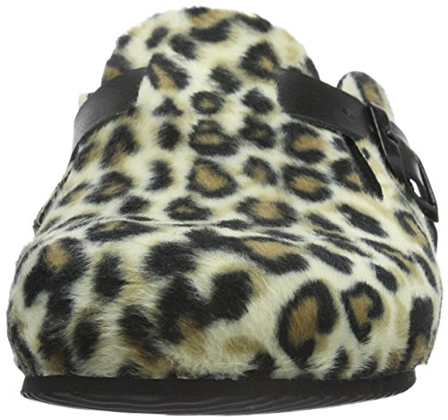 Gabor Home 391015, Chaussons femme Multicolore - Mehrfarbig (LEOPARDO)