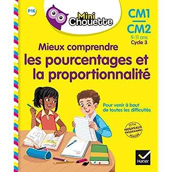 Mieux comprendre les pourcentages et la proportionnalité CM1/CM2