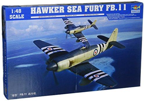 Trumpeter 2844 - Hawker Sea Fury FB.11 Importado de Alemania