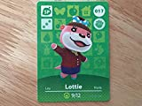 Animal Crossing Happy Home Designer Amiibo Card Lottie 017/100 by Nintendo