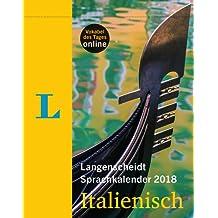 Langenscheidt Sprachkalender 2018 Italienisch - Abreißkalender