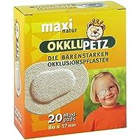 OKKLUPETZ Okklusionspflaster maxi natur 20 St Pflaster preisvergleich bei billige-tabletten.eu
