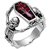 Fymia Exquisite Frauen Silber Ring Diamant Band Ringe Verlobungsring
