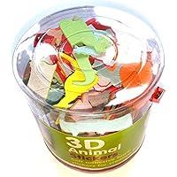 Adesivi 3D in gommapiuma a forma di animali, confezione da 100, per bambini, ragazzi e ragazze, artigianato, album, biglietti, per borse regalo per feste - Scott Album