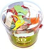 Appliances Best Deals - 3d animal-pegatinas de espuma, 100unidades para niños, niñas, manualidades, libros de recortes, tarjetas, bolsas de fiesta de regalo