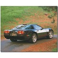 Chevy Corvette diseño de COCHE Vintage de fotos de madera de diseño de transporte (8