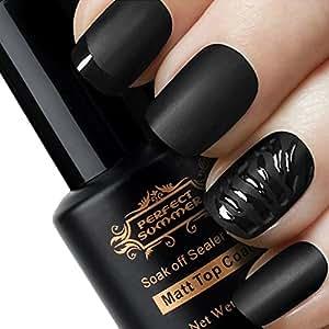 top coat mat d tachable non d graisser vernis ongles mat semi permanent nail art french. Black Bedroom Furniture Sets. Home Design Ideas