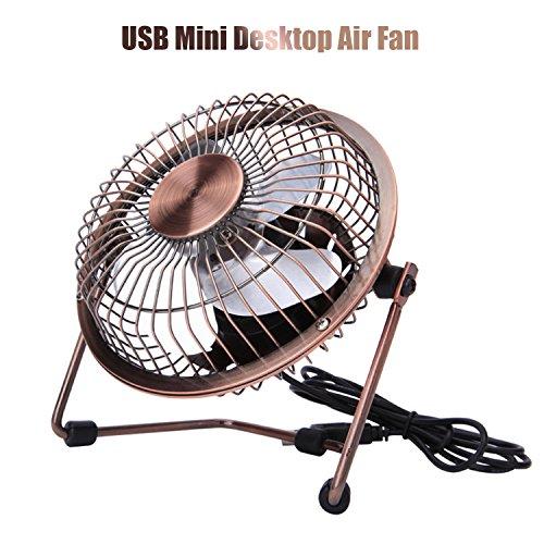 Ventilador de escritorio de Xutu mini ventilador de aire de gran alcance...