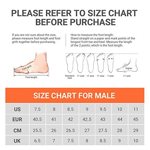 51Xwr%2BxIYdL. SS500  - SelfieGo Mens Casual Mesh Walking Shoes - Fashion Athletic Sport Running Sneaker Comfortable Breathable Lightweight