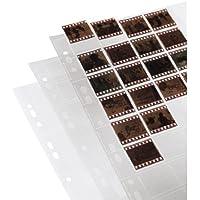 Hama Negativarchivierungshüllen (Polypropylen, für 40 Einzelnegative im Format 24 x 36 mm)