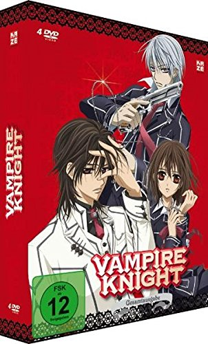 Vampire Knight - Gesamtausgabe (inkl. Booklet) [4 DVDs] (Vampir Anime)