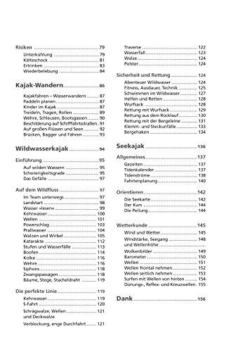 Der Kajak: Das Lehrbuch für den Kanusport - 3