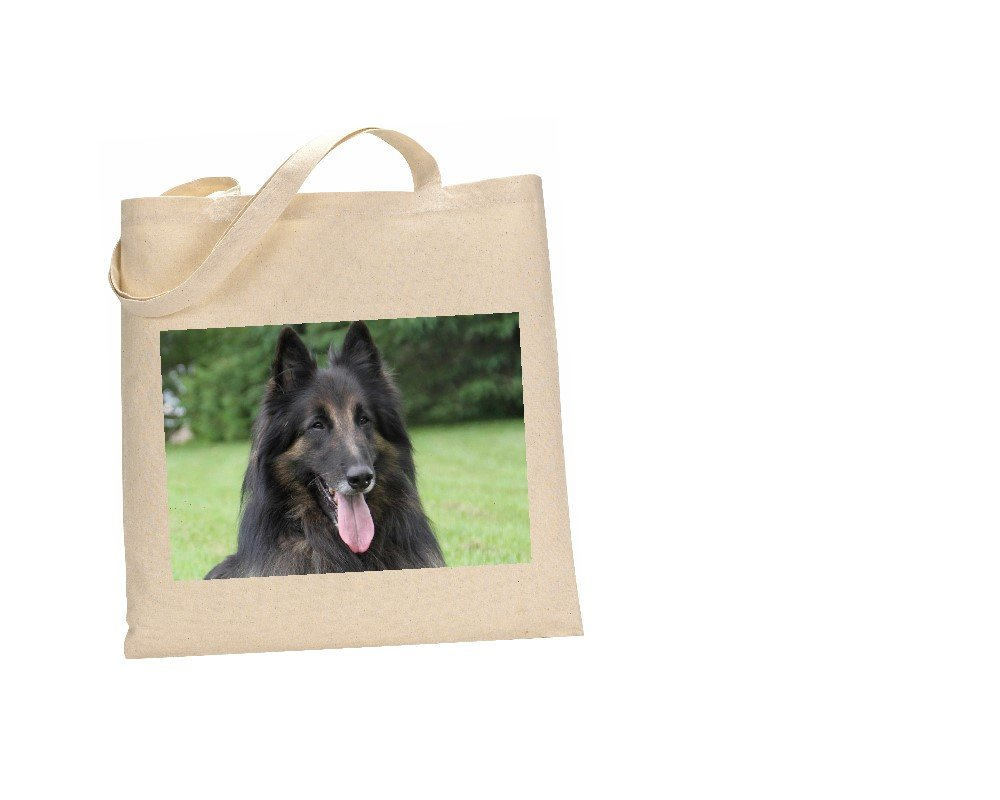 The Lazy Cow Belgian Tervuren DOG 100% Cotton Bag(FC) #29