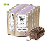 Organic Workout PALEO-BROT-BACKMISCHUNG 10er Pack | 100% Bio | gluten-frei | low-carb | Eiweiss-Brot | clean-eating | Fitness-Brot | hefefrei | ohne Getreide | hergestellt in Deutschland