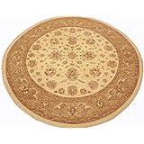 Runder Orientteppich Ziegler ca. 302 cm Ø Beige - feine Qualität - moderner Teppich - oriental round carpet Zigler best quality