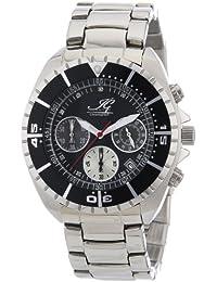 Ingraham Herren-Armbanduhr XL Syracuse Chronograph Quarz Edelstahl IG SYRA.1.611177D