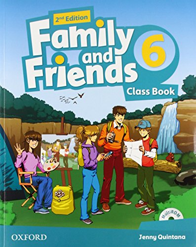 Family and Friends: Level 6: Class Book with Student MultiROM