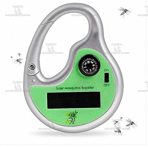 Solar Mosquito Repellent With Compass (Mosquito Repellent Sonic)
