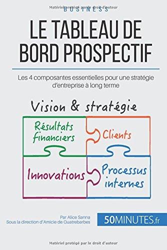 Le tableau de bord prospectif: Les 4 composantes essentielles pour une stratgie d'entreprise  long terme