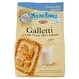 Mulino Bianco Biscotti Frollini Galletti con granelli di Zucchero, 350 gr