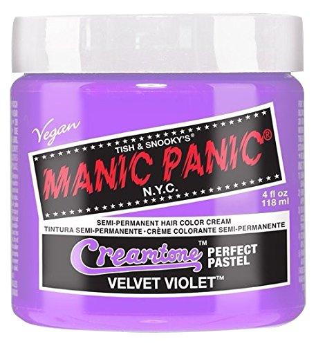 Manic Panic Gamme Creamtones Perfect Pastel Coloration Semi Permanente (Velvet Violet - Violet)