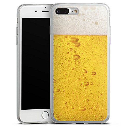 Apple iPhone 8 Slim Case Silikon Hülle Schutzhülle Bier Design Oktoberfest Silikon Slim Case transparent