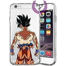Dragon Ball Z Super GT Protectores de iPhone Case Cover - Único Diseños más recientes - Todos los modelos de iPhone - A estrenar - La más alta calidad - Muchos diseños - Tournament Of Power - Goku Black Rose - Goku Blue - Gohan - Jiren - Vegeta Blue - DBS - DBZ - DBGT - MIM UK (iPhone 6 Plus/6s Plus, Goku Limit Breaker)