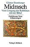 Midrasch: Vom Umgang der Rabbinen mit der Bibel. Einführung, Texte, Erläuterungen - Günter Stemberger