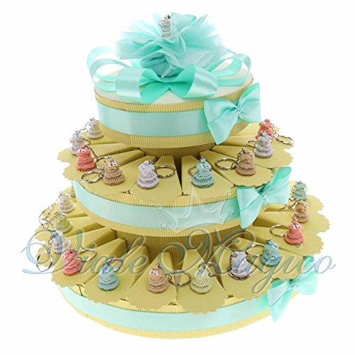 Bomboniere compleanno segnaposto portachiavi torta pastello 18 anni ragazzo ragazza spedizione gratuita (35 pezzi)