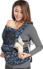 Chinmay Kids Baby Carrier Front Carry Facing in (Blue)