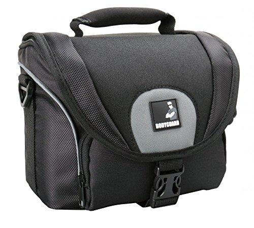 Fototasche Bodyguard SLR M für Body u. 2 Objektive für Nikon D800 D3200 D3300 D5100 D5200 D5300 D5500 D7000 D7100 D7200 Canon EOS 1200D 1300D 700D 750D 760D