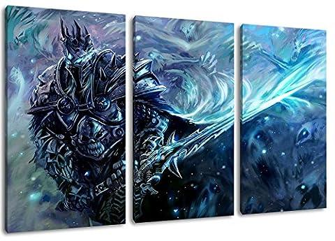 Poster Warcraft - World of Warcraft la peinture sur toile,
