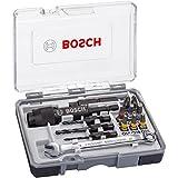 Bosch 2607002786 Coffret drill & drive - 3 en 1 : pré-perçage, fraisage et vissage ph2; ph2; pz2; sl5; h4; h5; t15; t20; t25