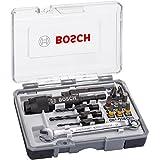 Bosch 26070027863in 1 Set Drill & Drive: Vorbohren, Fräsen und Schrauben PH2; PH2; PZ2; SL5; H4; H5; T15; T20; T25