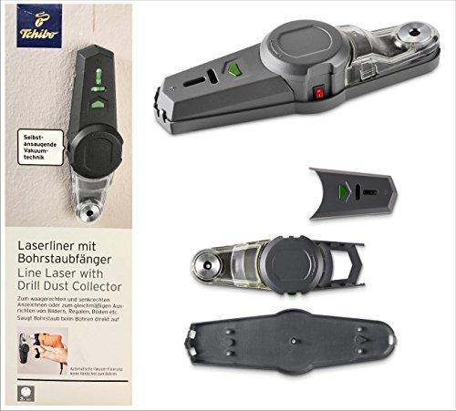 Preisvergleich Produktbild TCM Tchibo Laserliner mit Bodenstaubfänger
