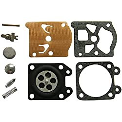 HIPA Kit Joints et Membranes de Carburateur pour Tronçonneuse Husqvarna 136 137 141 142