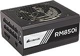 Corsair RM850i PC-Netzteil (Voll-Modulares Kabelmanagement, 80 Plus Gold, 850 Watt, EU)
